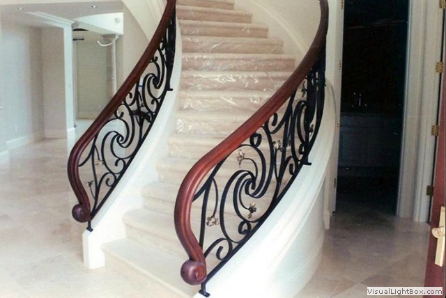 decorative wrought iron indoor stair railings decorative.htm global metal works and erectors  global metal works and erectors