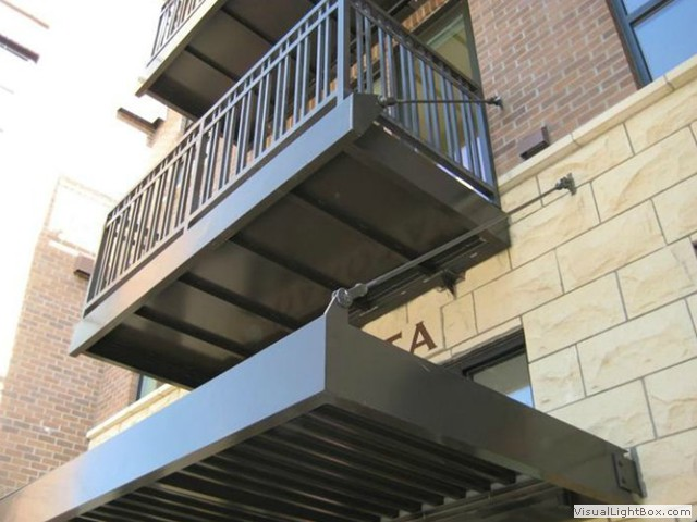 Global metal works and erectors for Metal balcony