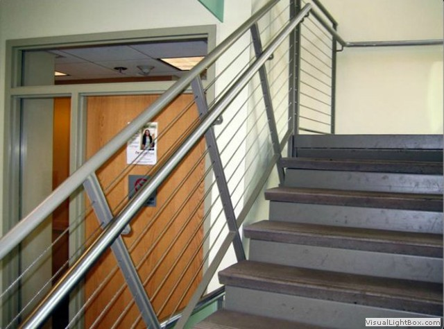 Double Top Cable Stair Rail ...